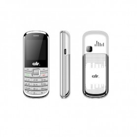 Cdr Mf01 Pocket Mini Phone Dual Sim  Silver