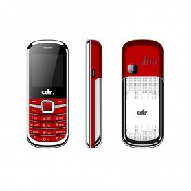Cdr Mf01 Pocket Mini Phone Dual Sim  Red